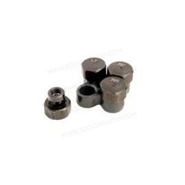 Juego desinflador neumáticos para tubos de válvulas TPMS.