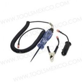Probador de circuitos para uso pesado con adaptadores a tierra.