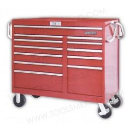 Gabinete uso mega pesado con baleros de 12 gavetas (móvil).