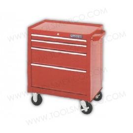 Gabinete uso extra pesado con baleros de 4 gavetas (móvil).