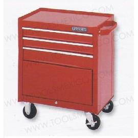 Gabinete uso extra pesado con baleros de 3 gavetas (móvil).
