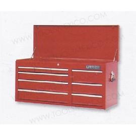 Gabinete uso extra pesado con baleros de 9 gavetas (fijo).