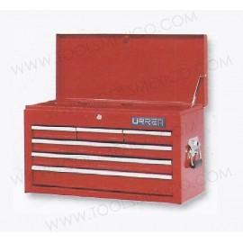 Gabinete uso extra pesado con baleros de 6 gavetas (fijo).