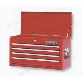 Gabinete uso extra pesado con baleros de 4 gavetas (fijo).
