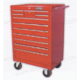 Gabinete uso extra pesado de 12 gavetas (móvil).