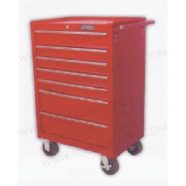 Gabinete uso extra pesado de 7 gavetas (móvil).