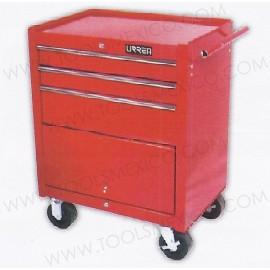 Gabinete uso extra pesado de 3 gavetas (móvil).