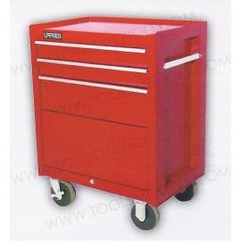 Gabinete uso pesado de 3 gavetas (móvil).