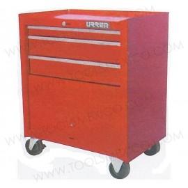 Gabinete uso industrial de 3 gavetas (móvil).