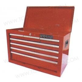 Gabinete uso industrial de 7 gavetas (fijo).