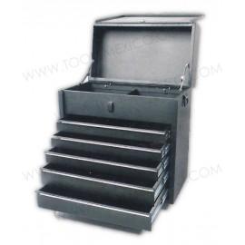 Gabinete integrado uso extra pesado de 5 gavetas (fijo).