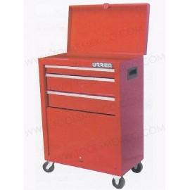 Gabinetes integrados uso industrial de 3 gavetas (móvil).