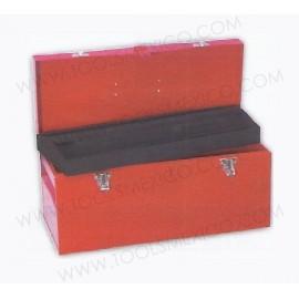 Caja portaherramientas metálica de 51 x 21.5 x 24 cm.