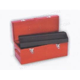 Caja portaherramientas metálica de 45.5 x 19.5 x 19.5 cm.