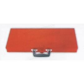 Caja metálicas para juegos y usos múltiples de  49.6 x 22 x 5 cm.