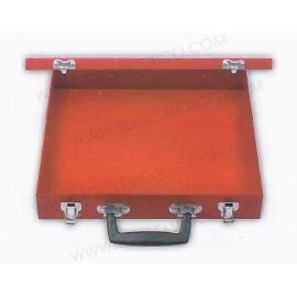 Caja metálica para extractor de 32 x 30 x 5.5 cm.