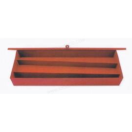 Caja metálicas para juegos y usos múltiples de  89 x 76.2 x 11.5 cm.
