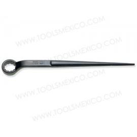 Llave estructural de estrías negra en pulgadas de 12 puntas.