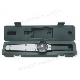 Torquímetro de caratula de 1'' rango de 0-1000 ft-lb.
