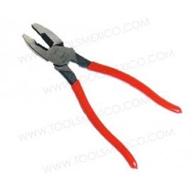 Pinza para electricista corte lateral alta palanca.