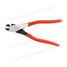Pinza para electricista corte diagonal c/pela alambre.