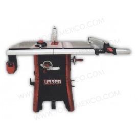 Sierra de mesa contractor monofásico 10'' 2 1/2HP de uso extra pesado.