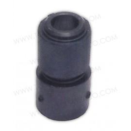 Cople rápido para montar cinceles en martillo neumático.