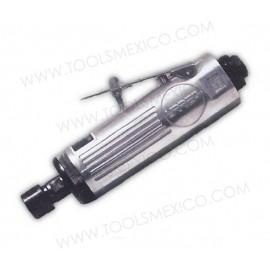 Mini esmeriladora neumática angular de boquilla 1/4'' 2,5000rpm.