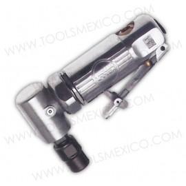Mini esmeriladora neumática angular de 90° de boquilla 1/4'' 2,2000rpm.