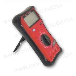 Multímetro de uso general rango manual.