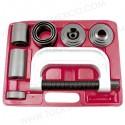 Kit de herramienta de servicio para manejo de 4 ruedas y articulación de rótula.