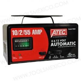 Cargador portátil automático 10/2/55Amp, 6/12V.