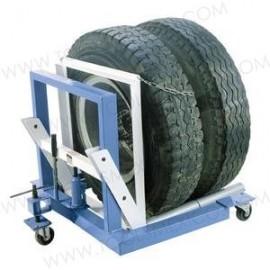 Plataforma para rueda dual con capacidad de 1500lb.
