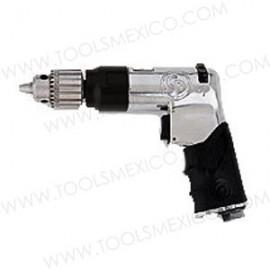 Taladro tipo pistola de máximo rendimiento de 10 mm (3/8'') con velocidad de 4200rpm.