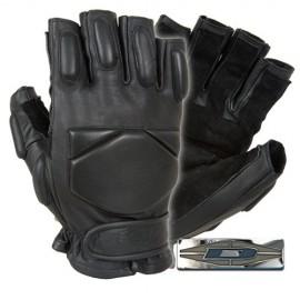 Guantes de piel con palma reforzada Responder™ (1/2 dedo).