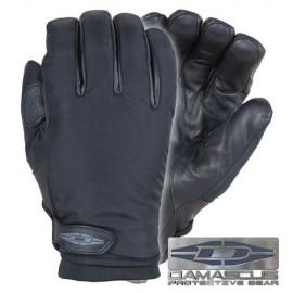 Guantes Stealth X Elite™ con dorso de nylon, palmas de piel y forro Thermolite®.