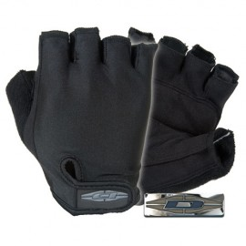 Guantes de medio dedo para bicicleta patrulla.