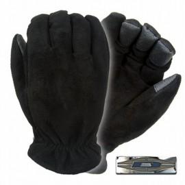Guantes Mailmaster™ de piel de gamuza con puntas de Trax-tex™.