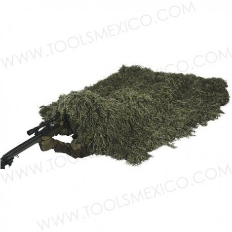 Manta Envolvente de Camuflaje de Bosque - 5'' x 9''.