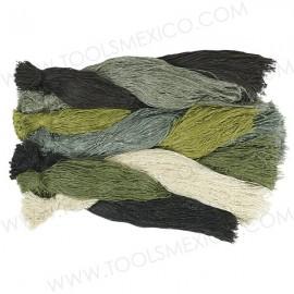 Hilos para Traje de Camuflaje de 1 Libra - Paquete Multicolores.