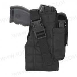 Funda Táctica Molle para Arma con Porta Cargadores.