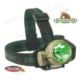 Linterna para Casco Camuflaje Buckmasters® Trident®.