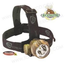 Linterna para Casco Verde Camuflaje Buckmasters® Trident Hp®.