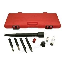 Kit regenerador de enroscas para bujías de motores Ford.