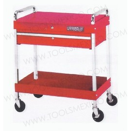 Carro utilitario uso pesado de 1 gaveta.