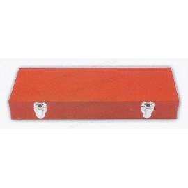 Caja metálicas para juegos y usos múltiples de  35,5 x 17,7 x 5,5 cm.