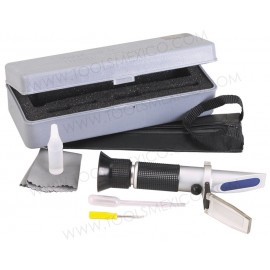 Refrigerante y Refractómetro de Batería.