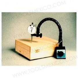 Indicador dial con base magnética y switch apagado/encendido.