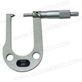 Micrómetro digital de rotor de freno rango 0.300-1.300''.
