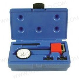 Kit indicador de prueba de largo alcance con base magnética.
